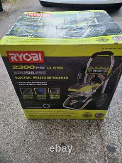 Ryobi RY142300 2,300-PSI 1.2-GPM High Performance Electric Pressure Washer