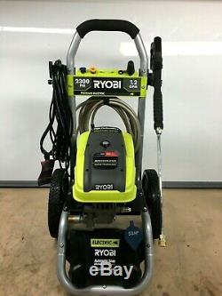 Ryobi RY142300 High Performance Electric Pressure Washer 2,300PSI 1.2 GPM LN