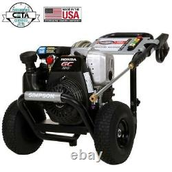 Simpson 3,100 PSI 2.5 GPM Gas Pressure Washer with Honda Engine