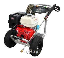 Simpson 4200 PSI @ 4.0GPM Gas Engine Aluminum Frame Pressure Washer Honda Engin
