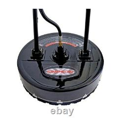 Simpson 80182 20 4500 PSI Professional Pressure Washer Surface Cleaner