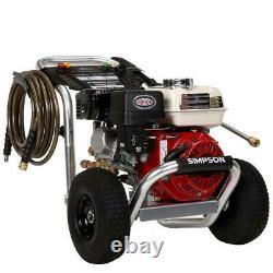 Simpson Aluminum 3,400 PSI 2.5 GPM Gas Pressure Washer with Honda Engine
