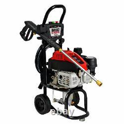 Simpson CM60912 Clean Machine 2400 PSI 2.0 GPM 149cc Gas Pressure Washer, Black