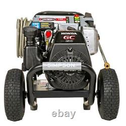 Simpson Gas Pressure Washer 3200 PSI at 2.5 GPM HONDA GC190 Cold Water