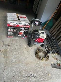 Simpson/Honda power washer 4,000 psi Open box