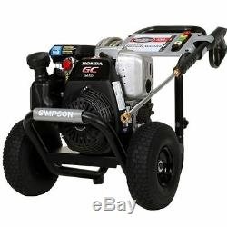 Simpson MegaShot 3200 PSI (Gas-Cold Water) Pressure Washer with Honda Engine M
