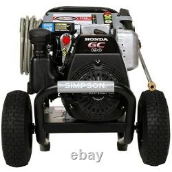 Simpson MegaShot MSH3125-S 3200 PSI (Gas-Cold Water) Pressure Washer with Honda