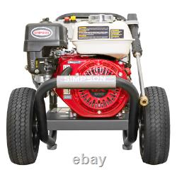 Simpson PowerShot PS61002-S 3500 PSI (Gas Cold Water) Pressure Washer with Ho