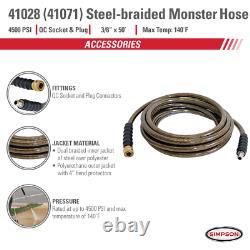 Simpson PowerShot Professional 4400 PSI (Gas Cold Water) Pressure Washer Ki