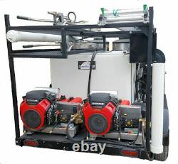 Speed Washer Honda, Hot, 2 Man, Pressure Washer Trailer 16 GPM 8 GPM 3500PSI