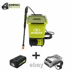Sun Joe 40-Volt Cordless Pressure Washer 1160 PSI MAX 5.0-Ah Battery