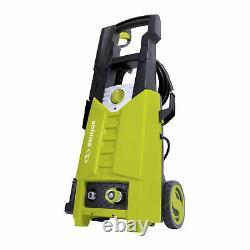 Sun Joe Electric Pressure Washer 1900 PSI Max 1.60 GPM 14.5-Amp 1800-Watt