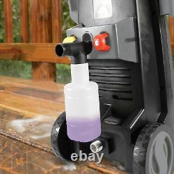 Sun Joe Electric Pressure Washer 2000 PSI Max 3 Included Tips Foam Cannon