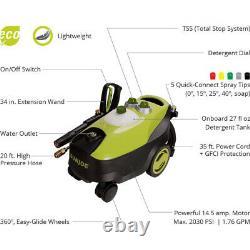 Sun Joe SPX3200 Electric Pressure Washer 2030 PSI 1.76 GPM 14.5 Amp
