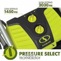 Sun Joe SPX4001 2030 PSI 1.76 GPM Electric Pressure Washer w Hose Reel
