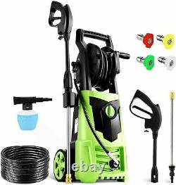 Suyncll Electric Pressure Washer 3000PSI, 2.4GPM High Power Washer Cleaner NEW