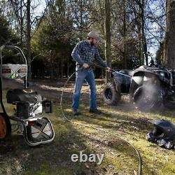 TACKLIFE 3200PSI Gas Pressure Washer, 2.4GPM 6.5HP Power Washer With 5 Nozzles