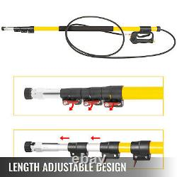 VEVOR Pressure Washer Wand Telescoping 18ft 4000psi With Belt 3/8 Quick Connector