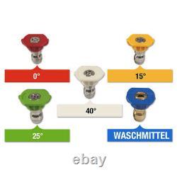 WILKS-USA RX550 Hochdruckreiniger 3800PSI Quick Connect höchste Leistung