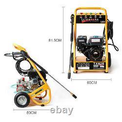 WILKS-USA TX625 Benzin Hochdruckreiniger 3950PSI Quick Connect höchste Leistung