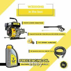 Waspper W3000HG 3000PSI Portable High Pressure Washer Light Weight Frame