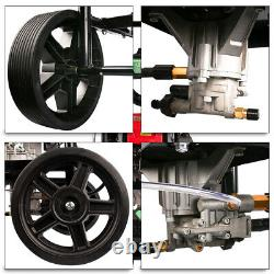 ZEMANOR 2500PSI Gasoline High Pressure Washer 7HP with Power Spray Gun 4 Nozzle