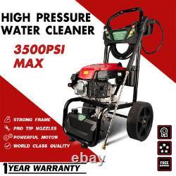 ZEMANOR MAX 3500PSI 7HP Gasoline High Pressure Washer Gas Pressure Cleaner